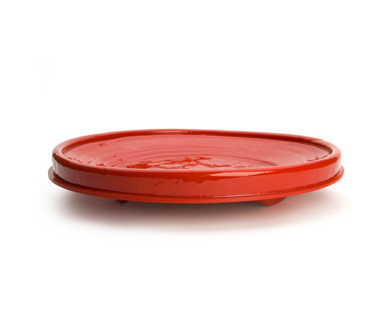 Red revisited plate large de Droog | Bowls