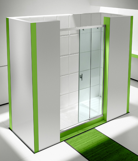 Fusion DF2 by ROCA | Shower screens