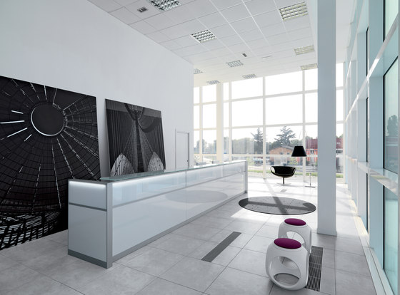DV702-LED 2 by DVO | Reception desks