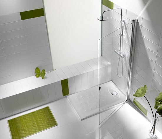 Opening shower tray de ROCA | Platos de ducha