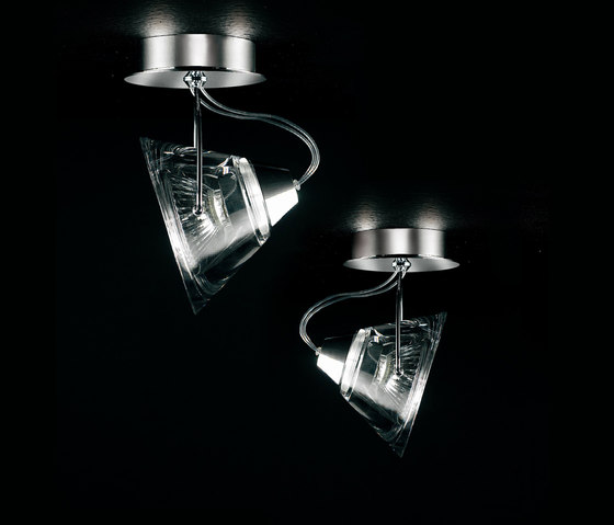 Wedge Ceiling light by LUCENTE | General lighting
