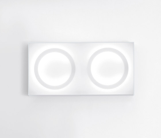 4x4 double wall by Agape | General lighting
