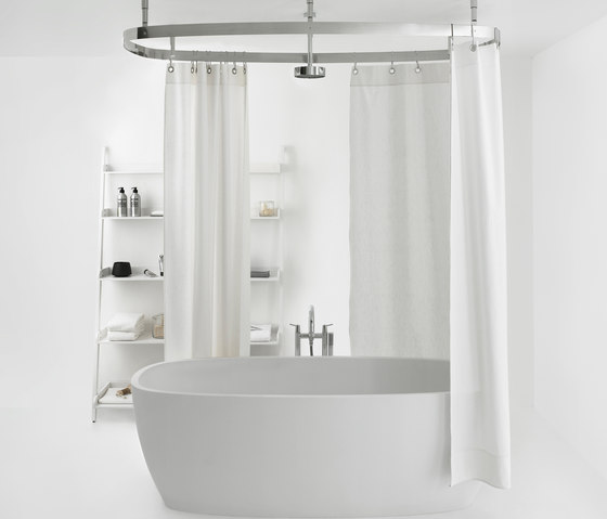 Cooper by Agape | Shower curtain rails