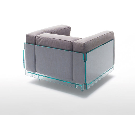 Crystal Lounge by Glas Italia | Lounge chairs