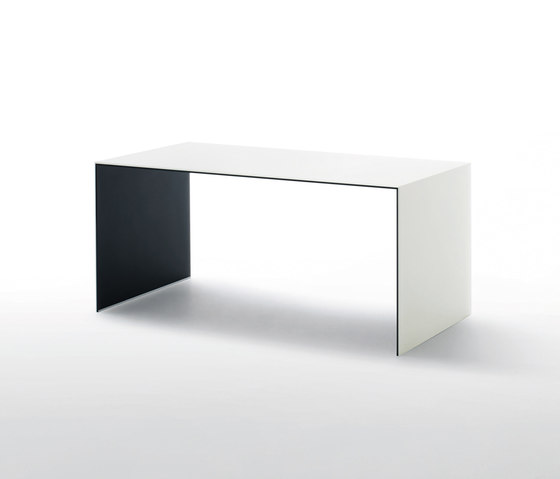 Sio2 Bridge Table by Glas Italia | Executive desks