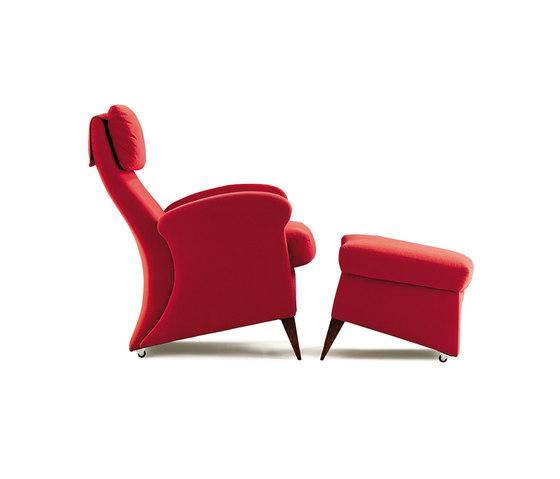 Koly Sessel mit Pouf von GRASSOLER | Sessel