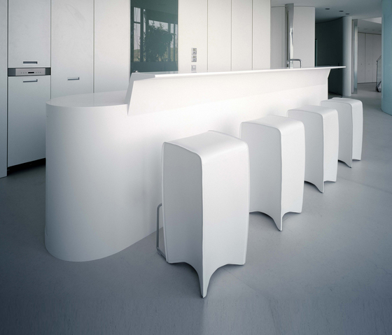 Whiteline kitchen de AMOS DESIGN | Cocinas integrales