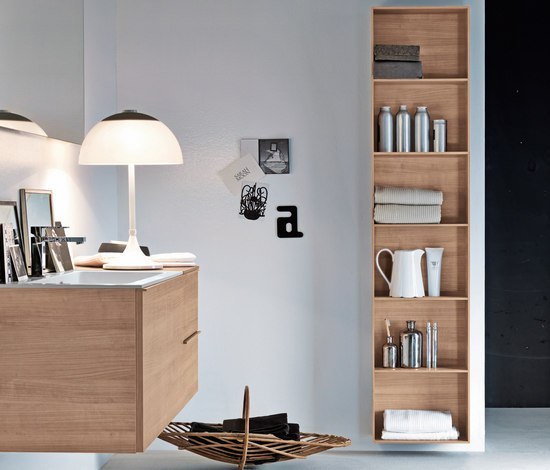 Gap by Falper | Bath shelving