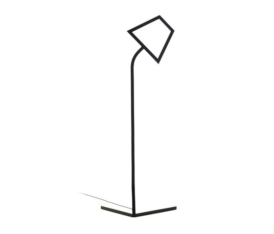 2D LED Floor Lamp by Skitsch by Hub Design | General lighting