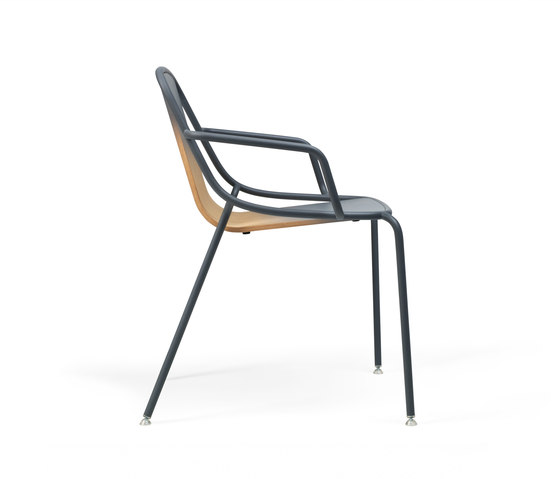 Alle Armchair Light grey by Skitsch by Hub Design | Multipurpose chairs
