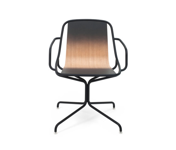 Alle Home Office Dark grey by Skitsch by Hub Design | Restaurant chairs