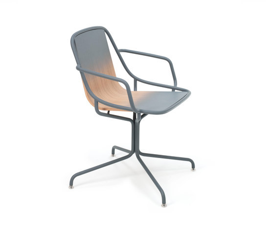 Alle Home Office Light grey by Skitsch by Hub Design | Restaurant chairs