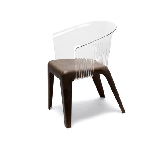 Madeira Transparent Black by Skitsch by Hub Design | Multipurpose chairs