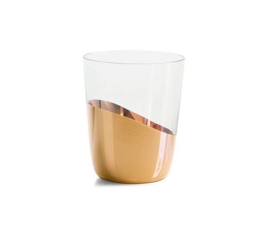 Midas Water Glass by Skitsch by Hub Design | Water glasses