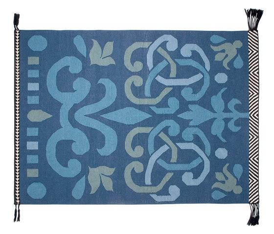 Arabesco Rug Green 2 by GAN | Rugs / Designer rugs