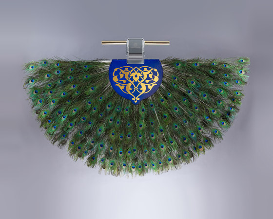 The Solitaire Punkah - The Peacock by Oliver Kessler | Ceiling fans