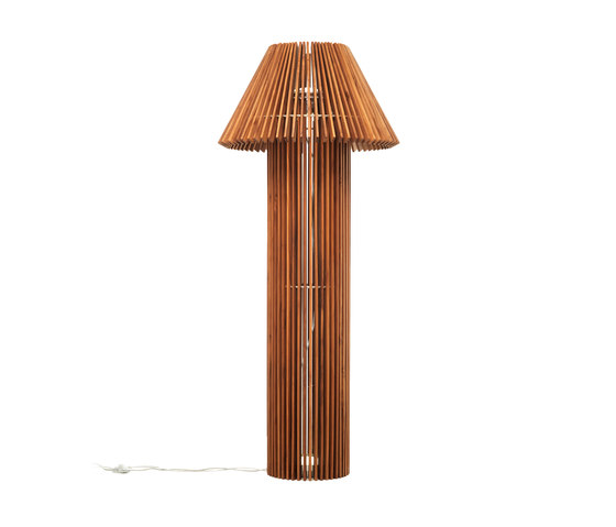 Wood | floor lamp by Skitsch by Hub Design | Free-standing lights