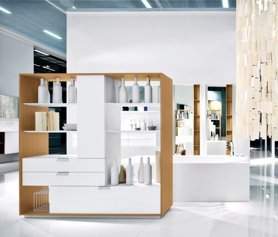 Shape by Falper | Bath shelving