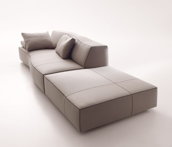 Bend Sofa Poufs From B B Italia Architonic