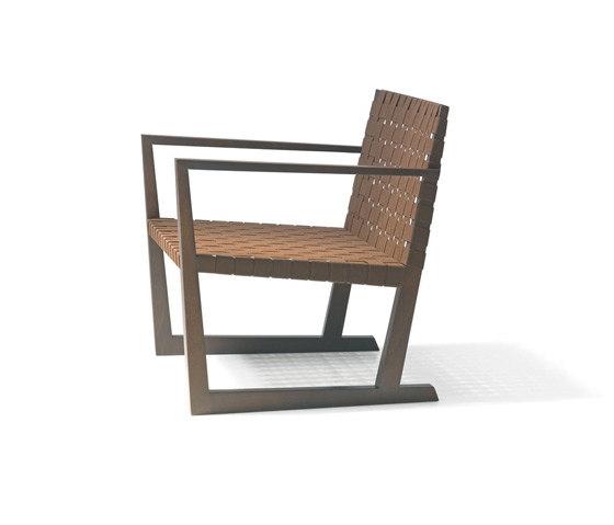 Serena BU 1173 by Andreu World | Garden armchairs