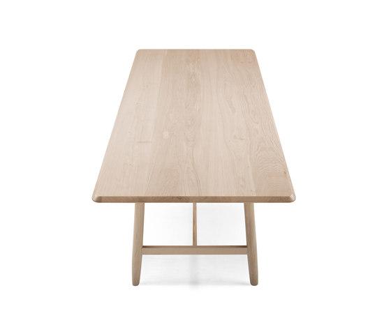 Kimua High Rectangular Table by Alki | Canteen tables