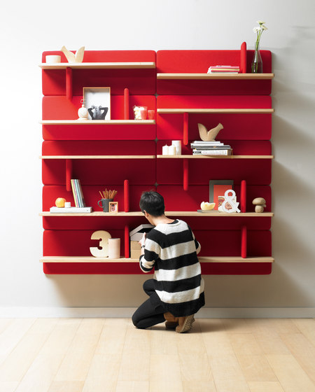 Landa Shelf de Alki | Librerías
