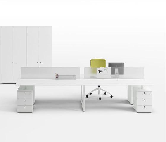 Framework 2.0 by Fantoni | Individual desks