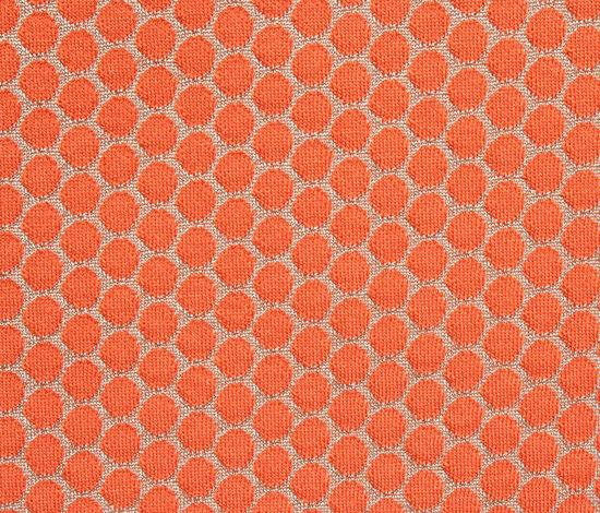 Dot Orange by Innofa | Upholstery fabrics