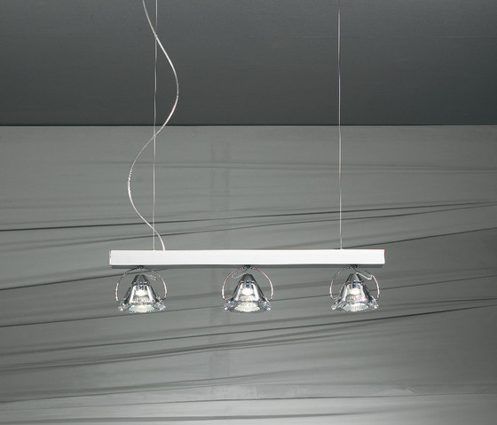 Wedge Pendant light by LUCENTE | Suspended lights