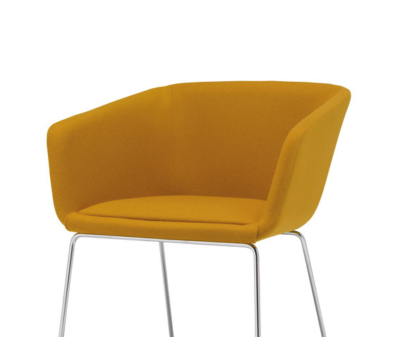 Nanda Comfort SO 2956 by Andreu World | Visitors chairs / Side chairs