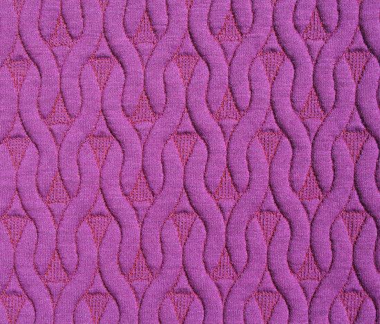 Knit Fuchsia by Innofa | Wall fabrics