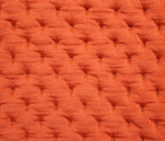 Stitch Orange by Innofa | Wall fabrics