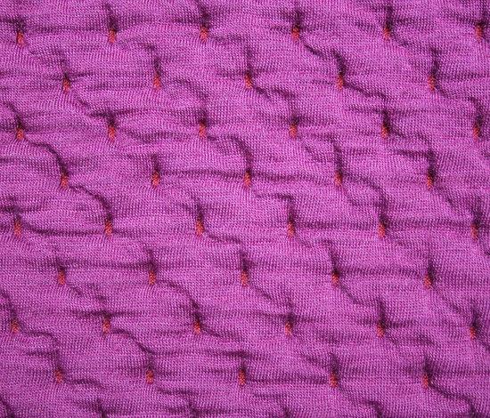 Stitch Fuchsia by Innofa | Wall fabrics