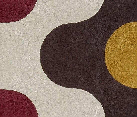 Flammes von Now Carpets | Formatteppiche / Designerteppiche