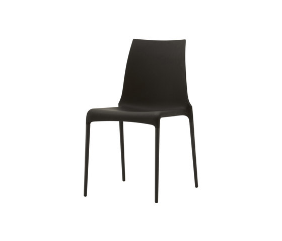 Petra | Chair Black Indoor / Outdoor by Ligne Roset | Chairs