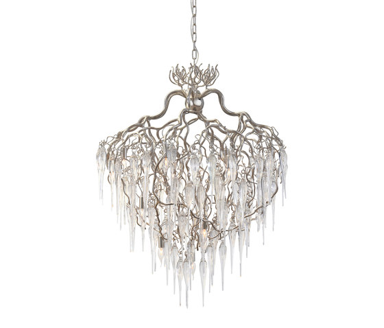 Hollywood chandelier glass by Brand van Egmond | Ceiling suspended chandeliers