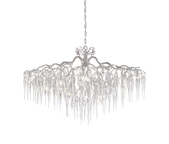 Hollywood chandelier glass von Brand van Egmond | Deckenlüster