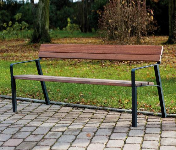 aviela Park bench by mmcité | Exterior benches