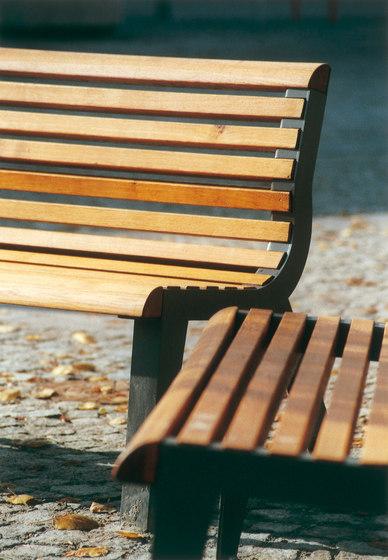 diva Park bench by mmcité | Exterior benches
