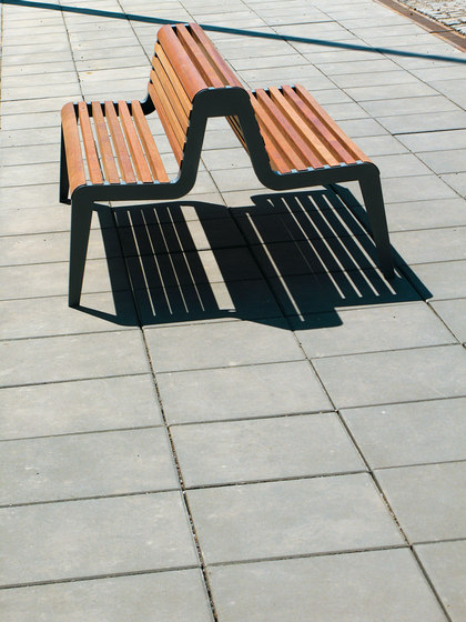 diva Park bench di mmcité | Panche da esterno