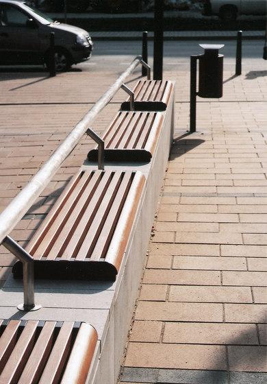 forma Parkbank von mmcité | Außenbänke