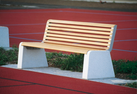 forma Park bench by mmcité | Exterior benches