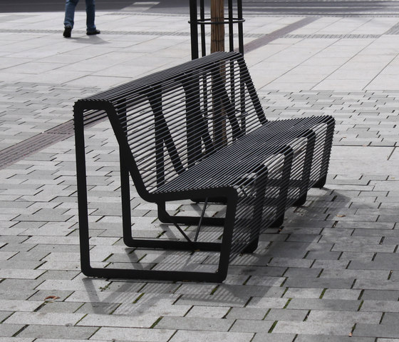limpido Park bench by mmcité | Exterior chairs