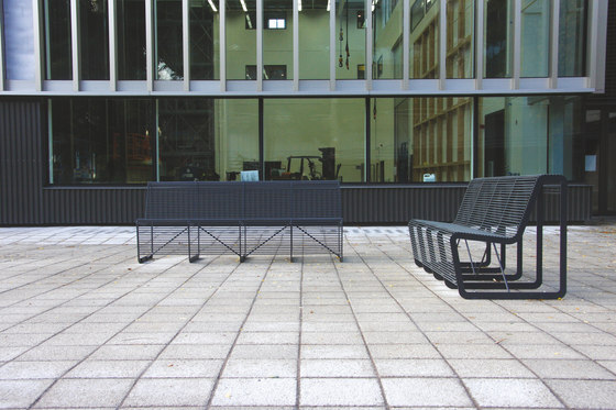 limpido | Park bench by mmcité | Exterior chairs