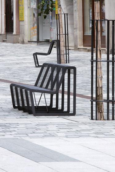 limpido | Parkbank von mmcité | Außenstühle