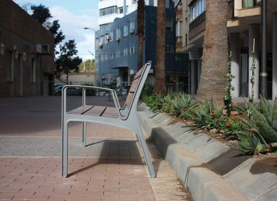 miela Park bench by mmcité | Exterior benches