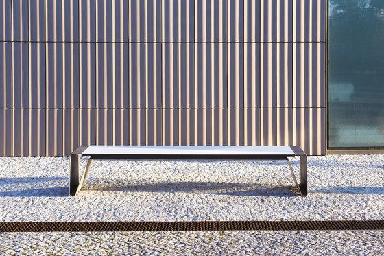 radium   Park bench by mmcité   Exterior benches