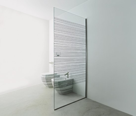 Flat D XG1 by Agape | Shower screens