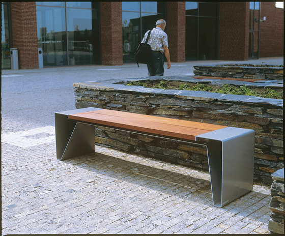 radium Park bench di mmcité | Panche da esterno