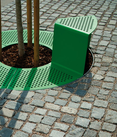 sinus Tree guard by mmcité | Tree guards